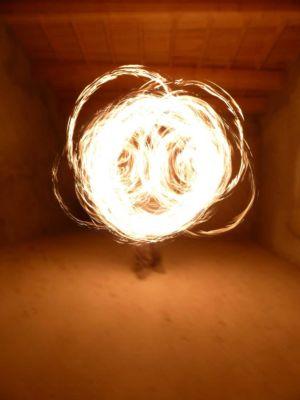Le Peuple du Feu - Normandie - Spectacle - jonglerie - bolas de feu