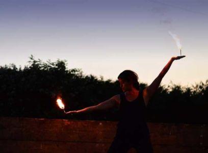 Le Peuple du Feu - Normandie - Spectacle - jonglerie - main de feu - danse